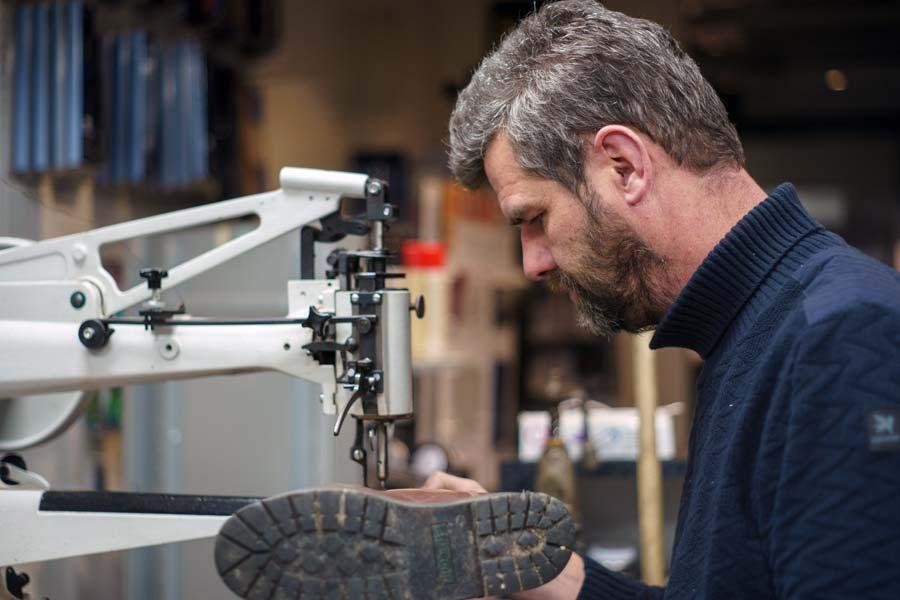 Rijdende schoenmaker Pieter de Ruiter